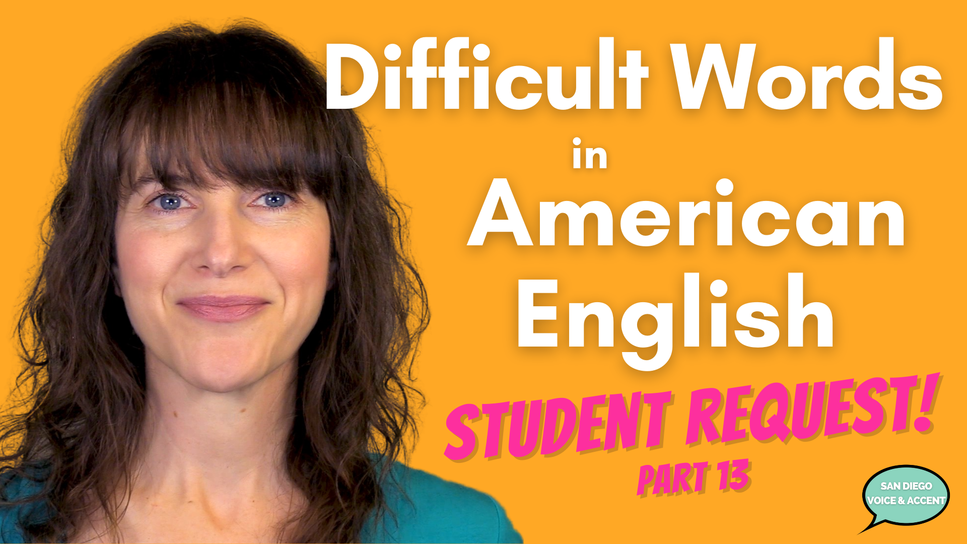 How to Pronounce Difficult Words in American English