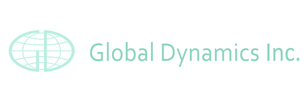 Global Dynamics Logo, Client of San Diego Voice & Accent