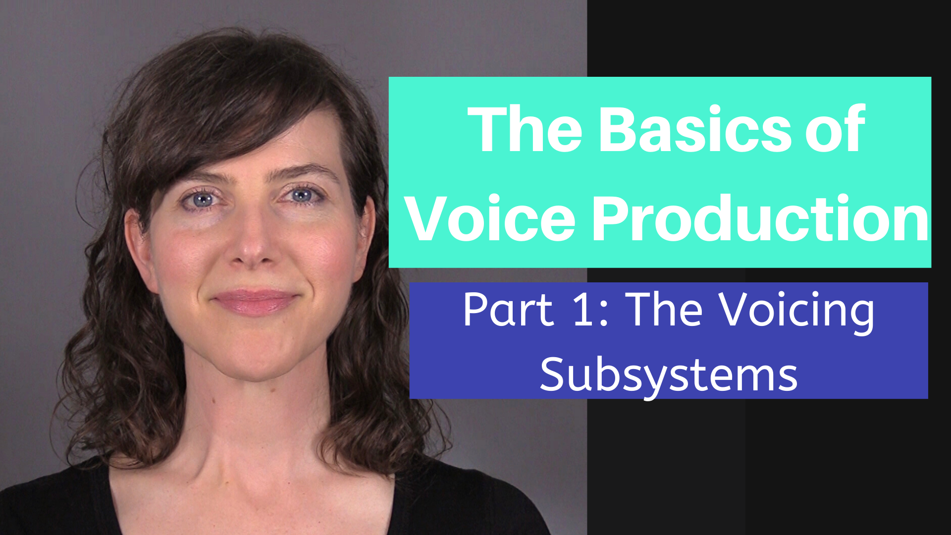 Basics Of Voice Production Part 1  The Voicing Subsystems
